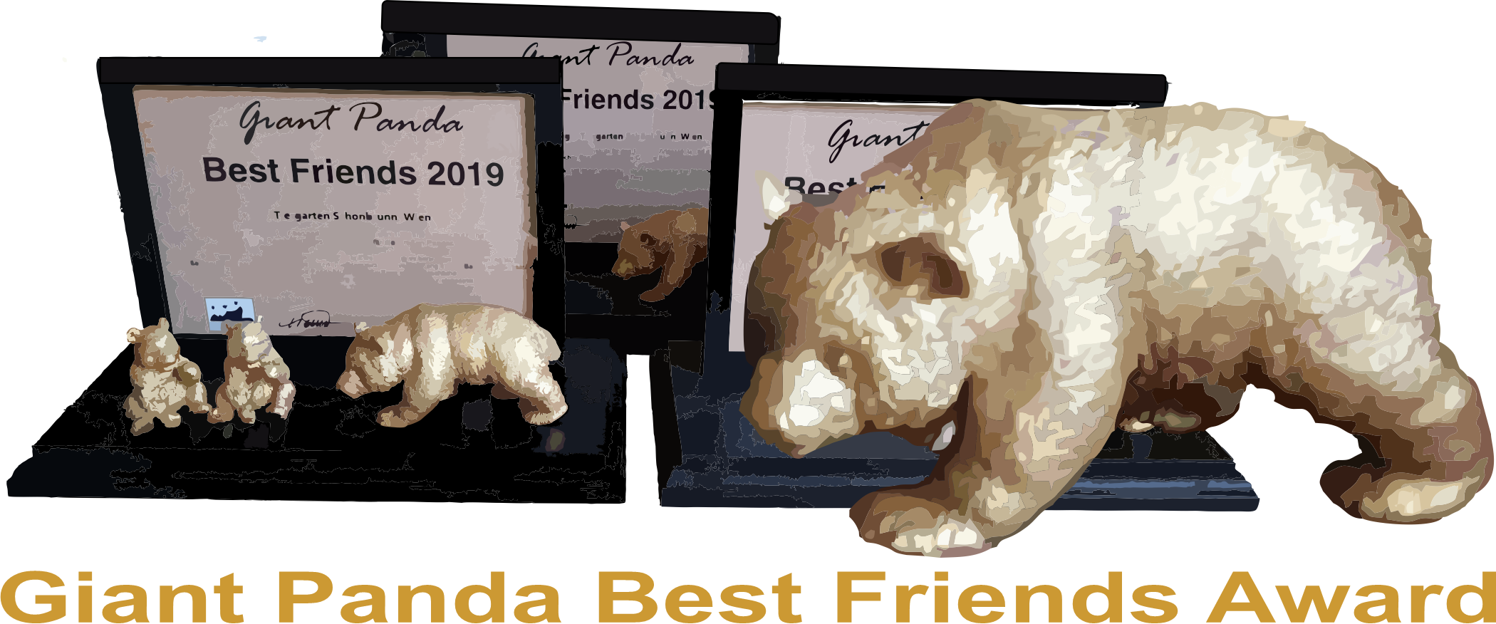 Giant Panda Best Friends Award